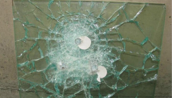 白銀防彈玻璃