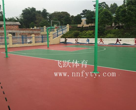 鹿陽小學硅PU球場