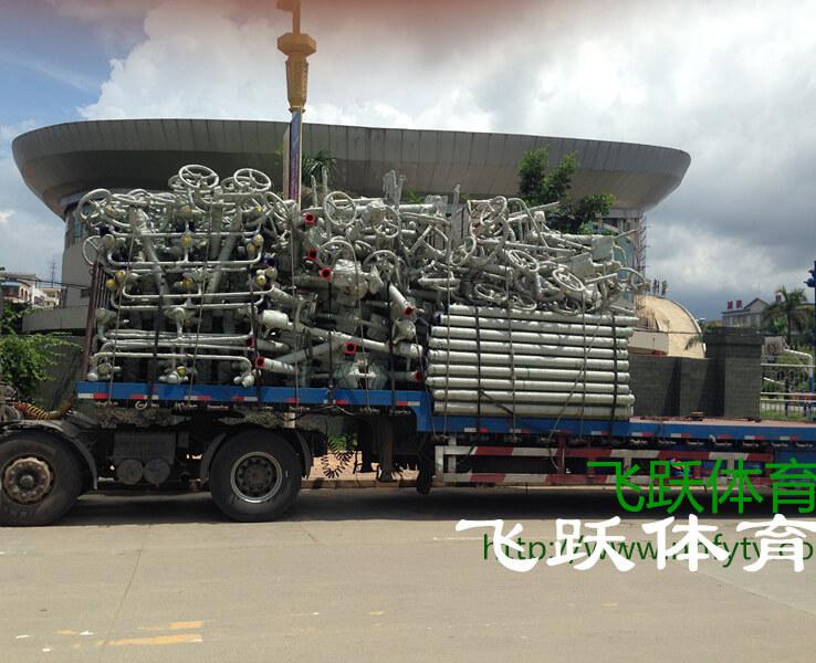 廣西賓陽縣體育館150套健身器材