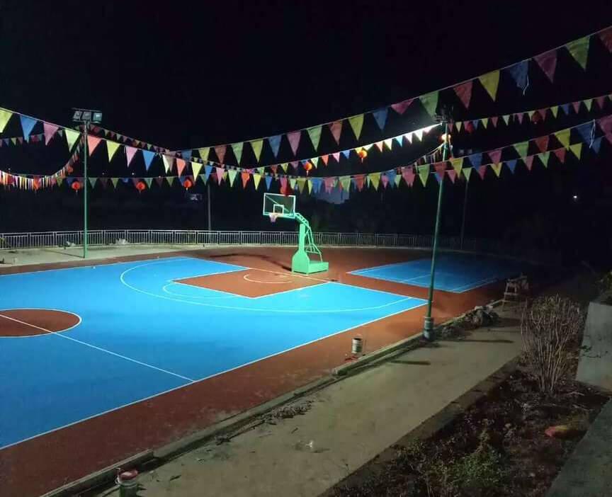 橫縣硅PU籃球場