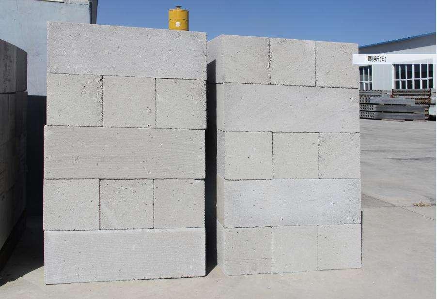 白银加气混凝土砌块