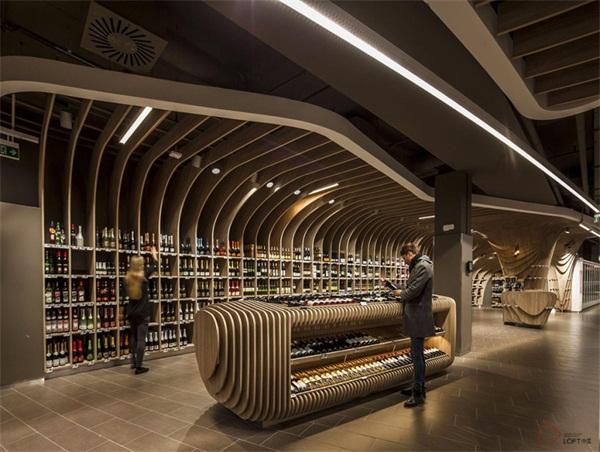 旗舰店超市设计装修