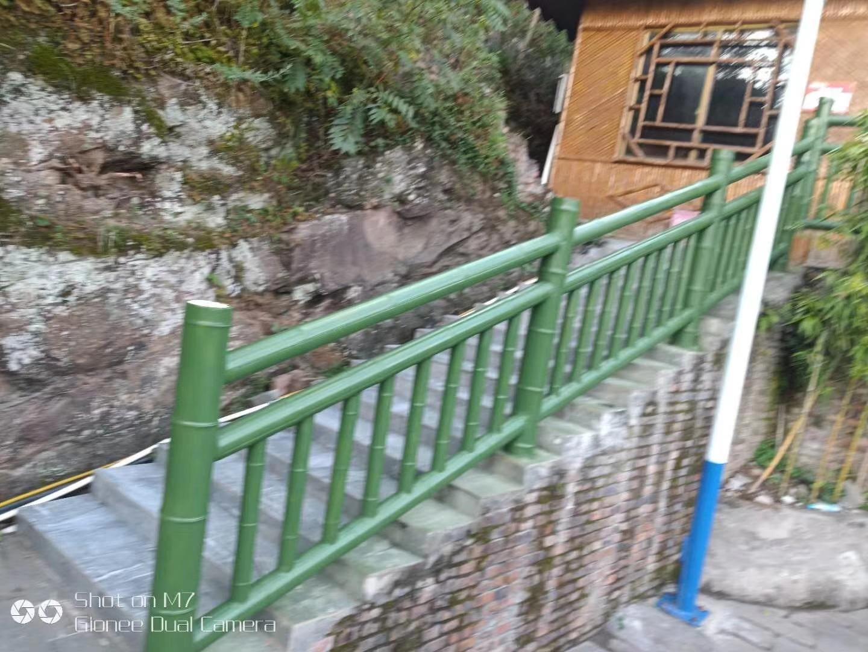 西安仿竹护栏