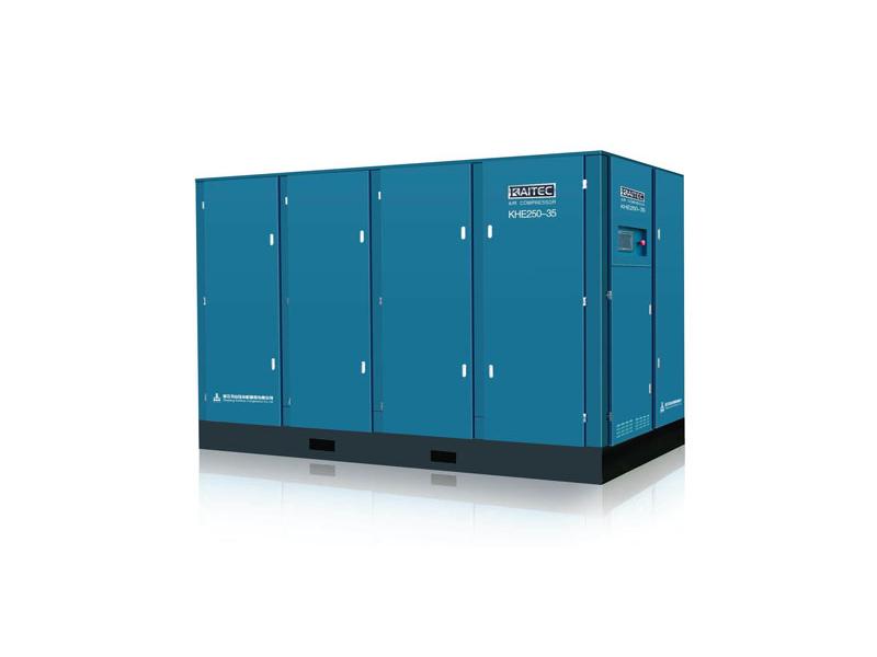 KAITEC-KHE高风压系列电动固定螺杆空气压缩机