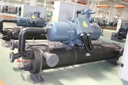 白银污水源热泵