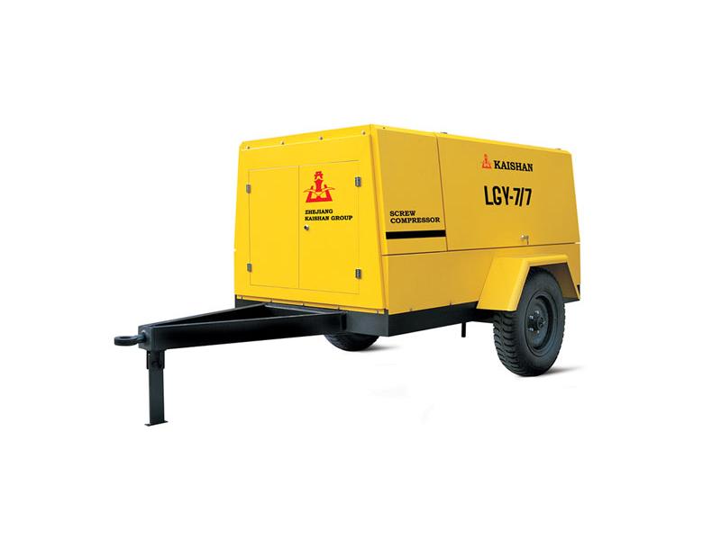 LG电动移动螺杆空气压缩机