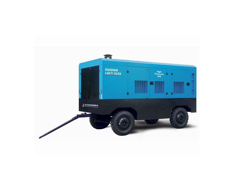 LG高风压系列柴动螺杆空气压缩机