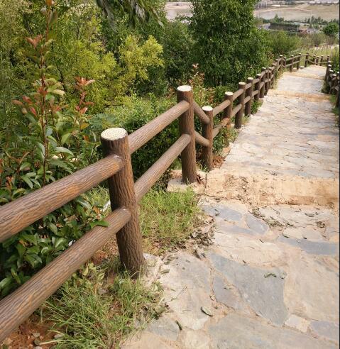 陕西方树皮栏杆公司