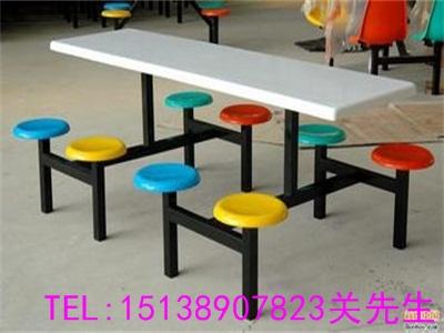 郑州八人不锈钢餐桌椅