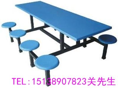 许昌八人不锈钢餐桌椅