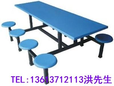 濮阳八人不锈钢餐桌椅