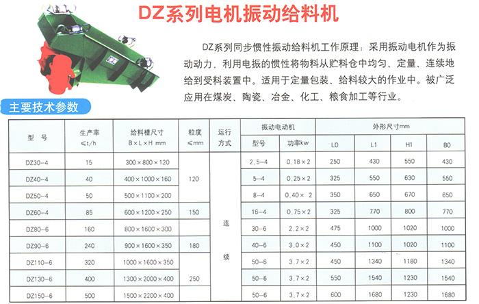 DZ系列电磁振动给料机