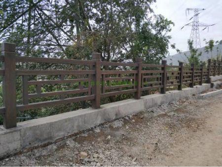 白银仿木围栏