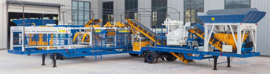 移动固废制砖设备