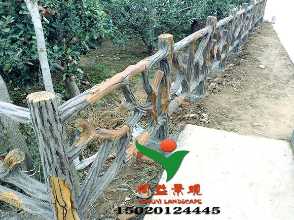 仿木栏杆价格以及在景区中的应用价值观