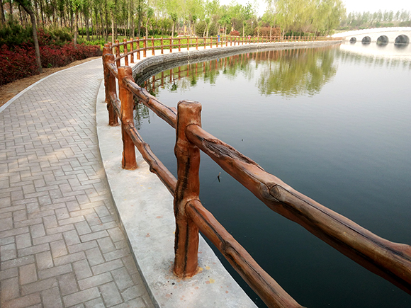 重庆艺术仿木栏杆厂家