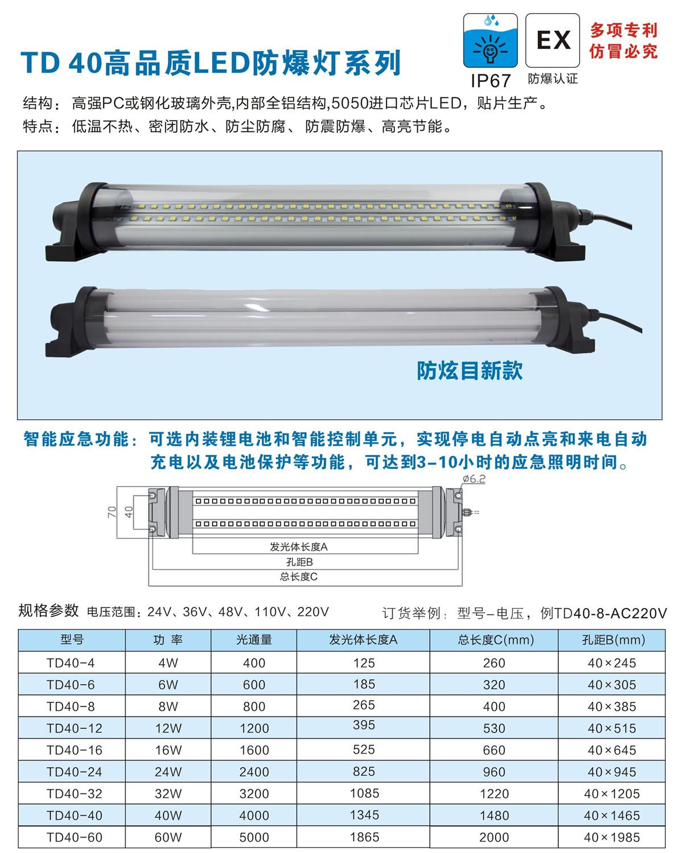 LED防水防爆灯hntd厂
