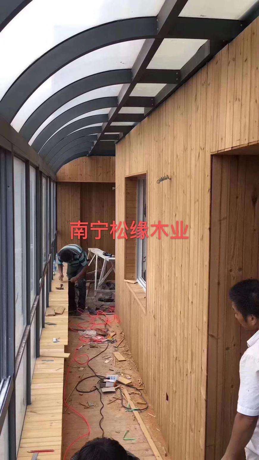 廣西防腐木陽臺