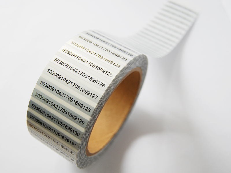 啞銀不干膠打印