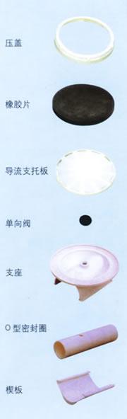 YWI型弹性橡胶膜微孔曝气器