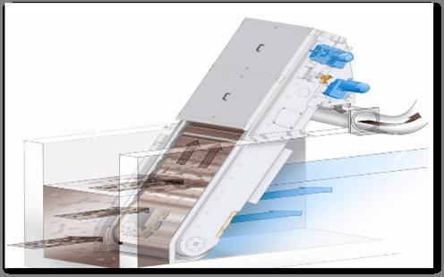 GF系列网板式门路格栅除污机