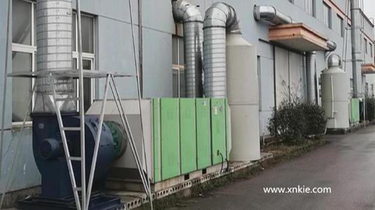 沈阳家具厂废气处理工程