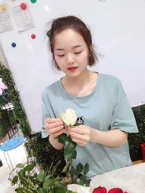 花艺制作老师