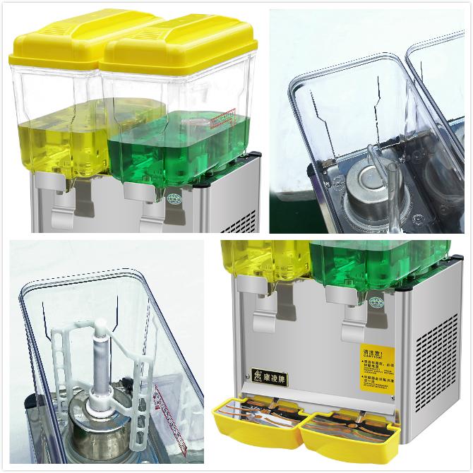 12L 双缸台式果汁机