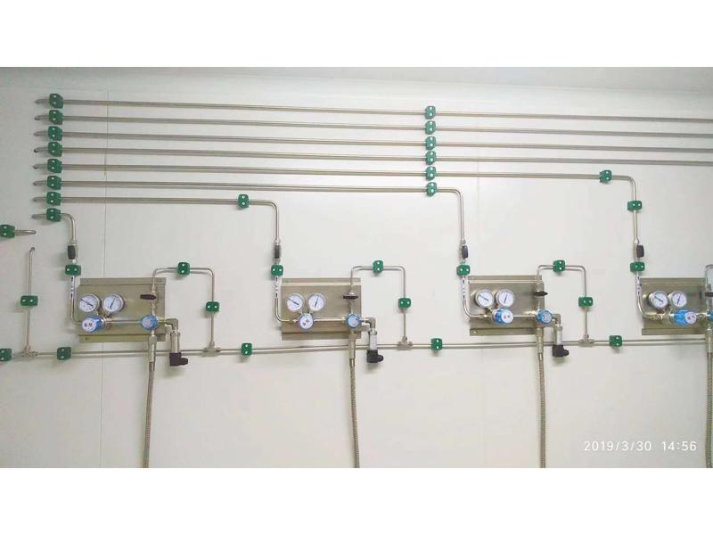 兰州实验室气路改造