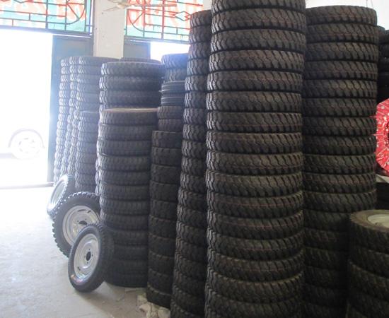三门峡工程三轮车轮胎