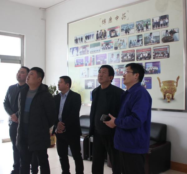 2019.3.6甘肃惠森药业发展有限甘肃洪总一行考察