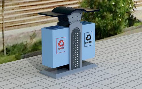 钢板垃圾桶价格