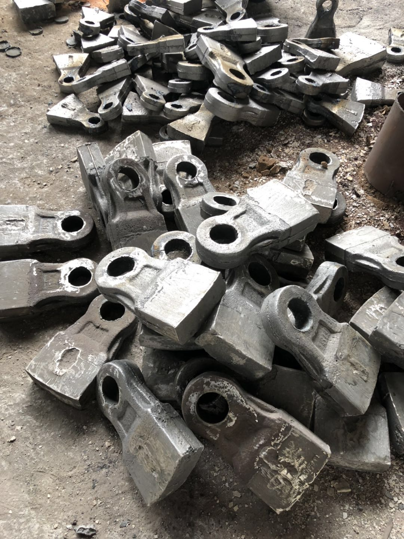 双金属热复合锤头厂家直销