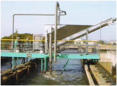 SF型螺旋砂水分手器