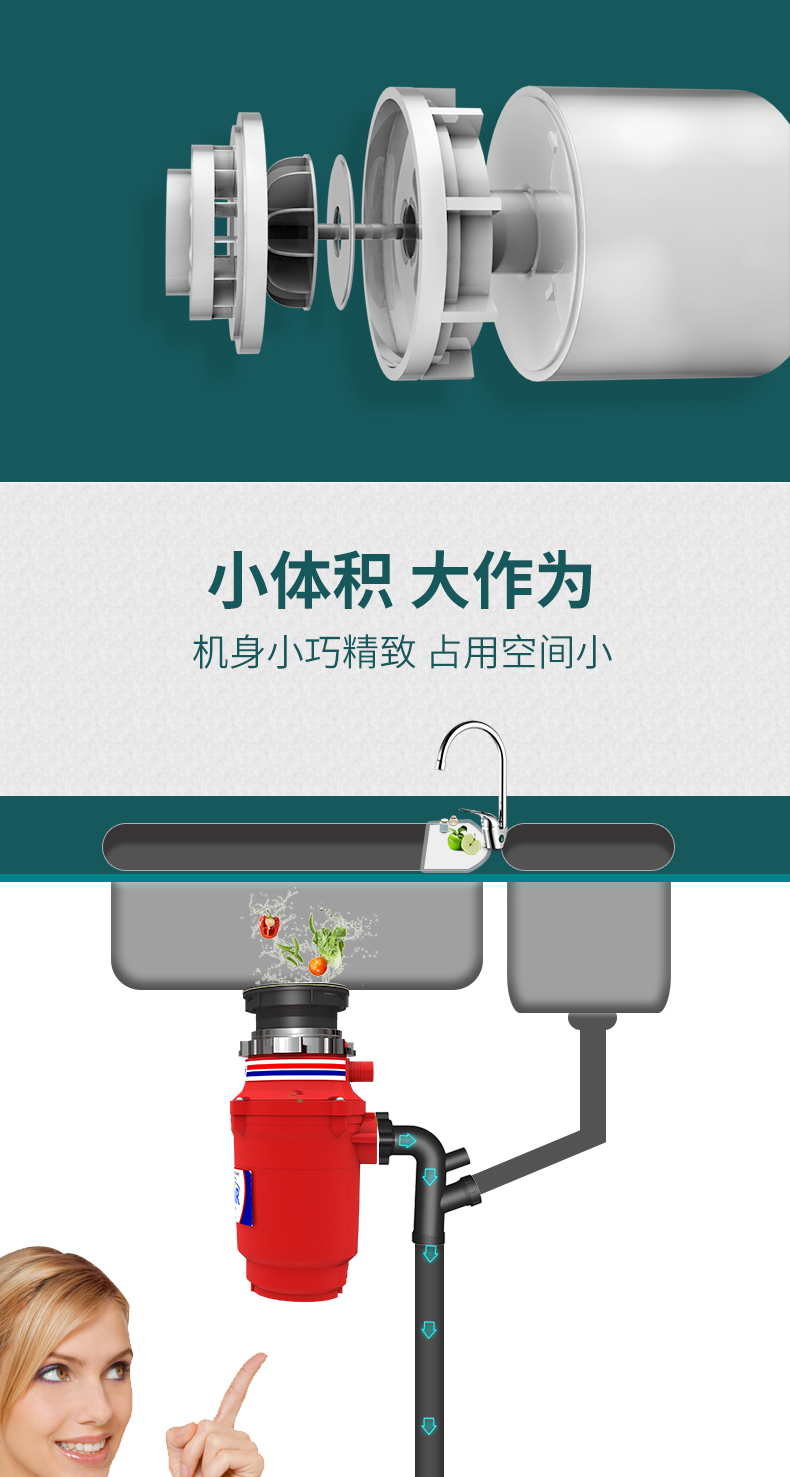 食物垃圾處理器
