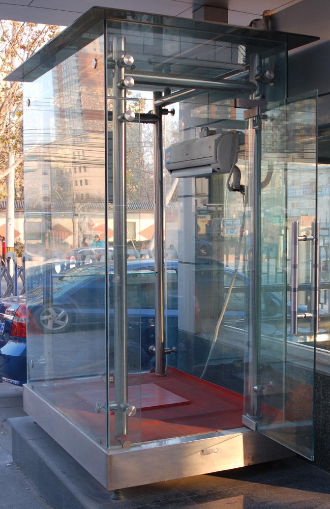 钢化玻璃结构
