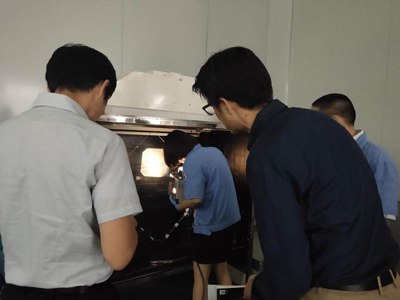 2019年7月3日日本AGC株式会社客户莅临新兴指导工作