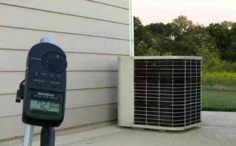 中央空调室外机组噪音