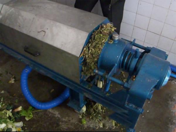 菜场垃圾压榨机