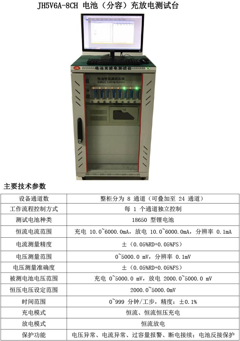 电池充放电测试台