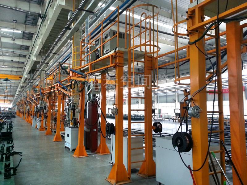 二氧化碳焊接空间臂送丝机支臂