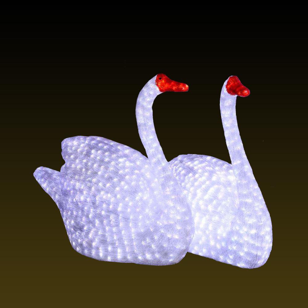滴胶动物 白天鹅
