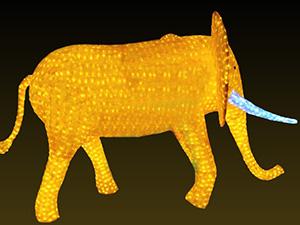 滴胶动物 大象