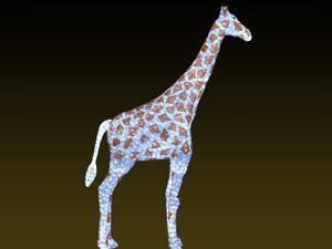 滴胶动物长颈鹿