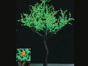 高仿真树及果树-桔树