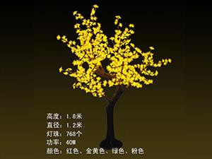 高仿真树及果树-金黄色