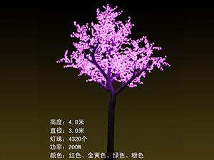 高仿真树及果树-粉色