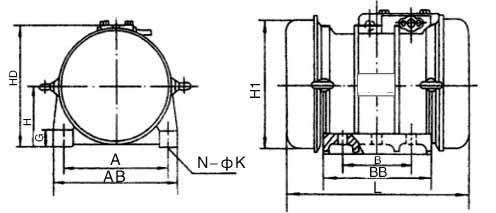 TZDC系列振(震)動電機