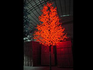 塔型树灯-红枫叶