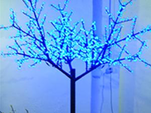 LED铁杆树灯-蓝色
